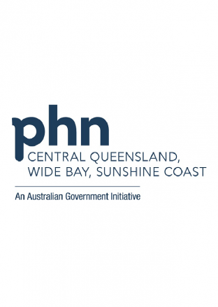 Central Queensland, Wide Bay, Sunshine Coast PHN Logo